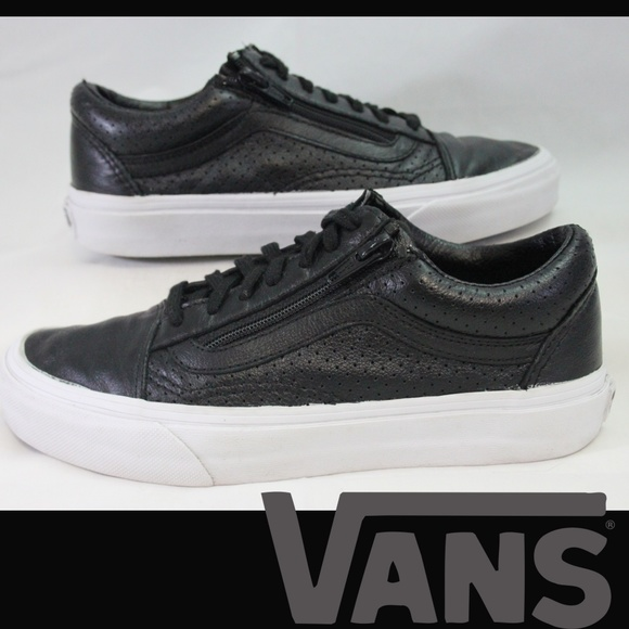 vans old school leather